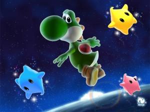 Super Yoshi Galaxy art